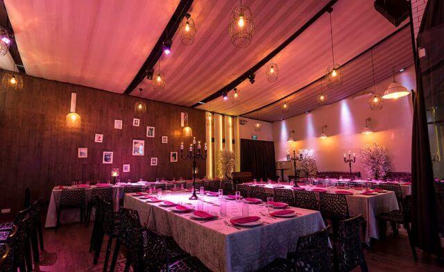 שולחן ערוך באולם האירועים ניין
