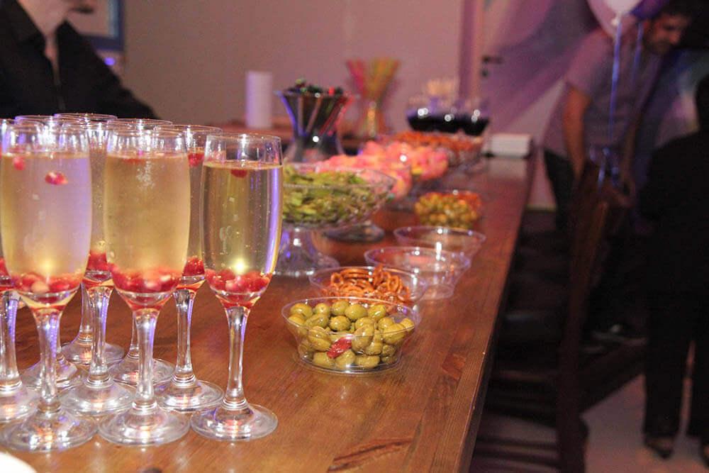 בר פירות ושתייה בניין אירועים